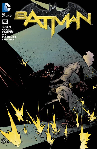 Cover for Batman (DC, 2011 series) #50 [Fried Pie Color Connecting Cover]