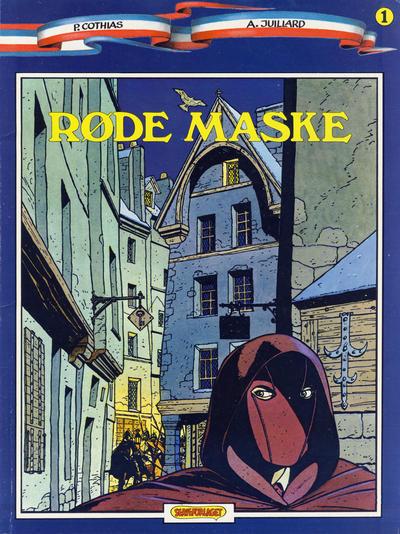 Cover for Røde Maske (Egmont, 1987 series) #1