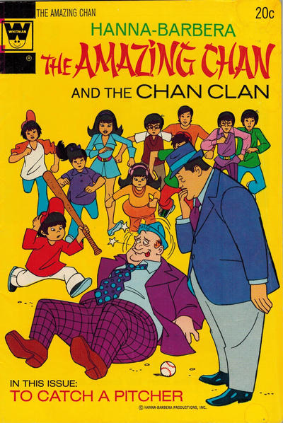 Cover for Hanna-Barbera The Amazing Chan and the Chan Clan (Western, 1973 series) #2 [Gold Key Variant]