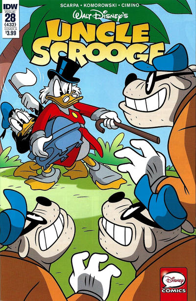 Cover for Uncle Scrooge (IDW, 2015 series) #28 / 432