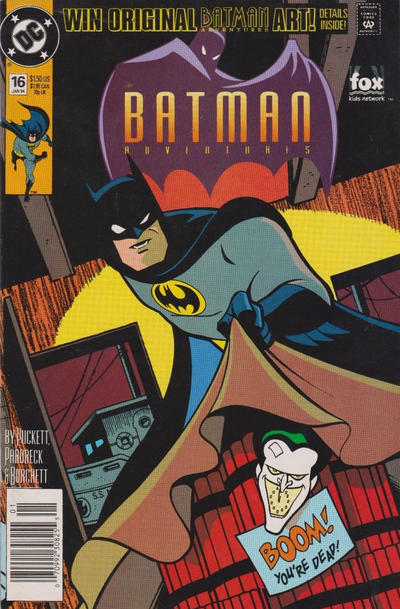 Cover for The Batman Adventures (DC, 1992 series) #16
