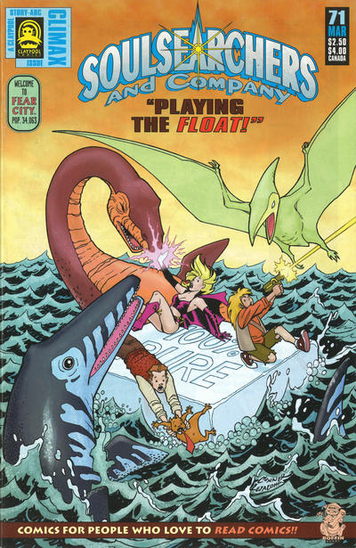 Cover for Soulsearchers and Company (Claypool Comics, 1993 series) #71