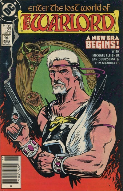 Cover for Warlord (DC, 1976 series) #123 [Direct Sales]
