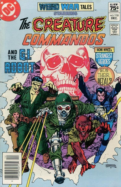 Cover for Weird War Tales (DC, 1971 series) #118 [Direct Sales]