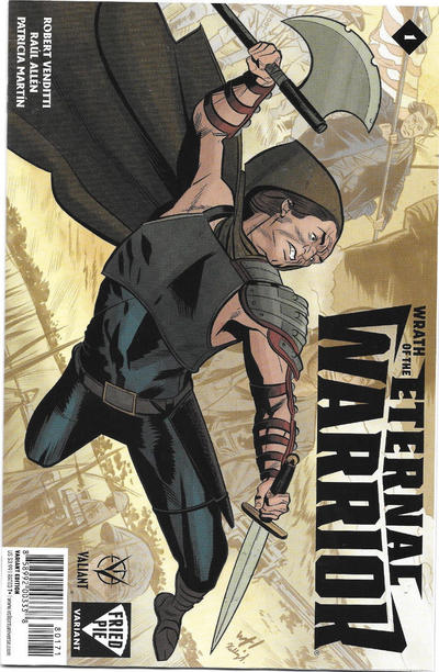 Cover for Wrath of the Eternal Warrior (Valiant Entertainment, 2015 series) #1 [Bulletproof Comics and Games]
