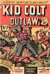 Cover for Kid Colt Outlaw (Horwitz, 1952 ? series) #7