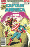 Cover for Captain America Annual (Marvel, 1971 series) #9 [Newsstand]