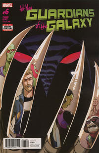 Cover Thumbnail for All-New Guardians of the Galaxy (Marvel, 2017 series) #6
