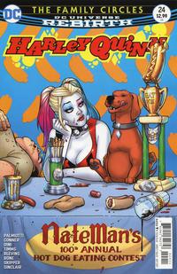 Cover Thumbnail for Harley Quinn (DC, 2016 series) #24