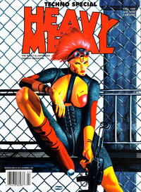 Cover Thumbnail for Heavy Metal Special Editions (Heavy Metal, 1981 series) #v13#3 - Techno