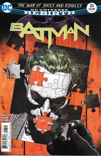 Cover Thumbnail for Batman (DC, 2016 series) #26