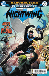 Cover Thumbnail for Nightwing (DC, 2016 series) #24 [Paul Renaud Cover]