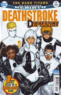 Cover Thumbnail for Deathstroke (DC, 2016 series) #21