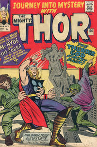 Cover Thumbnail for Journey into Mystery (Marvel, 1952 series) #106 [British]