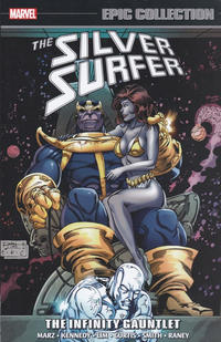 Cover Thumbnail for Silver Surfer Epic Collection (Marvel, 2014 series) #7 - The Infinity Gauntlet
