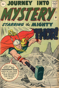 Cover Thumbnail for Journey into Mystery (Marvel, 1952 series) #86 [British]