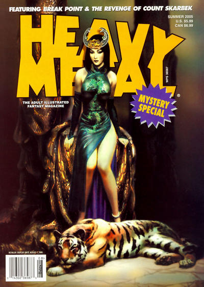 Cover for Heavy Metal Special Editions (Heavy Metal, 1981 series) #v19#2 - Mystery Special