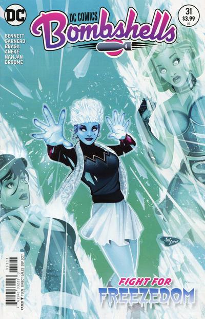 Cover for DC Comics: Bombshells (DC, 2015 series) #31