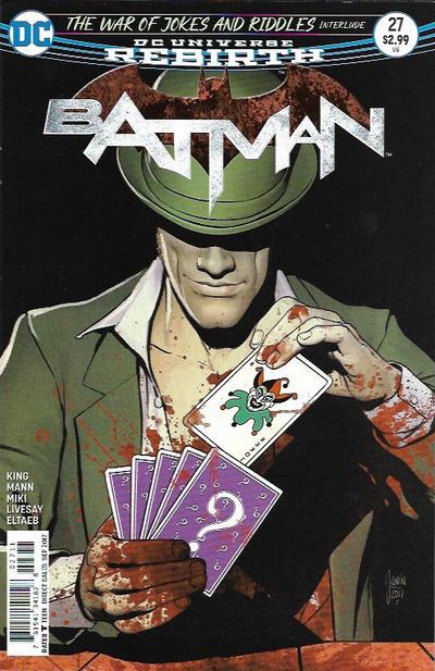 Cover for Batman (DC, 2016 series) #27