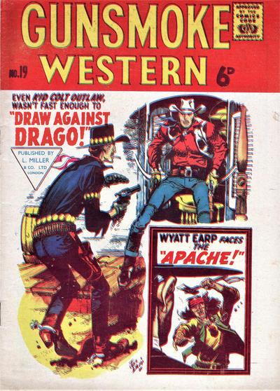 Cover for Gunsmoke Western (L. Miller & Son, 1955 series) #19