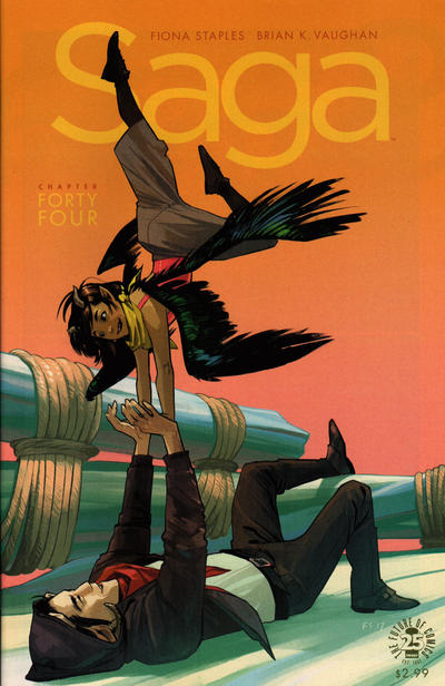 Cover for Saga (Image, 2012 series) #44
