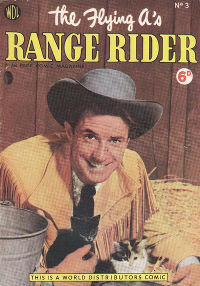 Cover for Flying A's Range Rider (World Distributors, 1954 series) #3