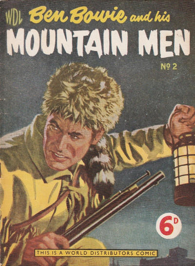 Cover for Ben Bowie and His Mountain Men (World Distributors, 1955 series) #2
