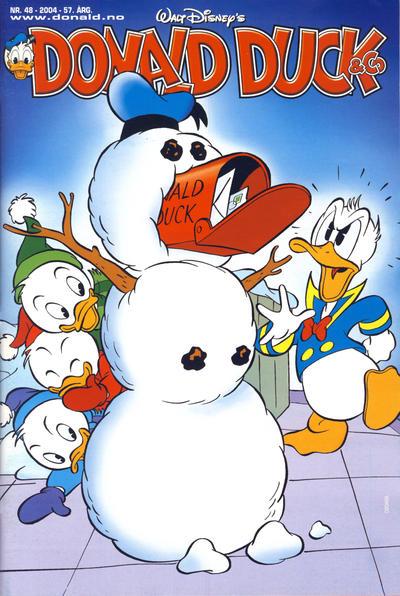 Cover for Donald Duck & Co (Hjemmet / Egmont, 1948 series) #48/2004