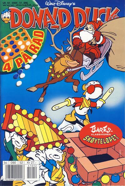 Cover for Donald Duck & Co (Hjemmet / Egmont, 1948 series) #52/2004