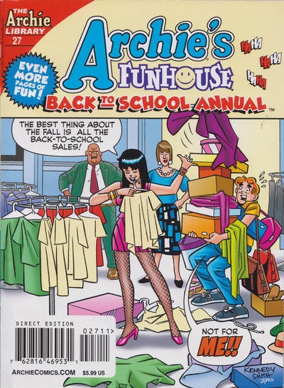 Cover for Archie's Funhouse Double Digest (Archie, 2014 series) #27