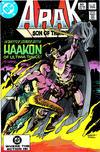 Cover for Arak / Son of Thunder (DC, 1981 series) #18 [Direct]