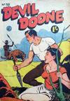 Cover for Devil Doone Adventure Comic (K. G. Murray, 1962 ? series) #38
