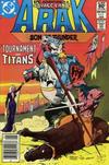 Cover for Arak / Son of Thunder (DC, 1981 series) #5 [Newsstand]