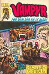 Cover for Vampyr (Interpresse, 1972 series) #14