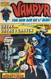Cover for Vampyr (Interpresse, 1972 series) #7