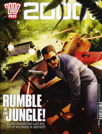 Cover for 2000 AD (Rebellion, 2001 series) #2041