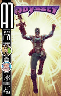 Cover Thumbnail for A1 (Titan, 2013 series) #3 [Odyssey Variant]
