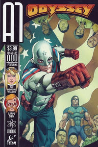 Cover Thumbnail for A1 (Titan, 2013 series) #6 [Odyssey Variant]