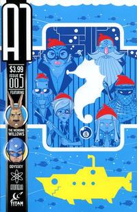 Cover Thumbnail for A1 (Titan, 2013 series) #5 [CarpeDiem Variant]