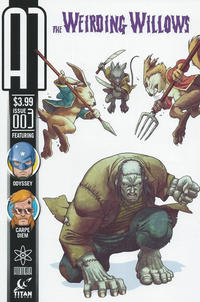 Cover Thumbnail for A1 (Titan, 2013 series) #3 [The Weirdling Willows Variant]