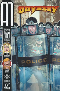 Cover Thumbnail for A1 (Titan, 2013 series) #5 [Odyssey Variant]