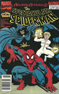 Cover Thumbnail for The Spectacular Spider-Man Annual (Marvel, 1979 series) #9 [Newsstand]