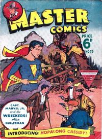 Cover Thumbnail for Master Comics (L. Miller & Son, 1950 series) #75