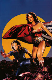 Cover Thumbnail for Wonder Woman '77 Meets the Bionic Woman (Dynamite Entertainment, 2016 series) #4 [Cover C Retailer Incentive 'Virgin Art' Staggs]