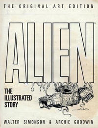Cover Thumbnail for Alien: The Illustrated Story (Original Art Edition) (Titan, 2012 series)