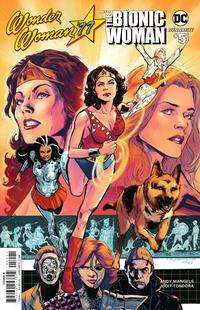 Cover Thumbnail for Wonder Woman '77 Meets the Bionic Woman (Dynamite Entertainment, 2016 series) #5 [Cover B Phil Jimenez]