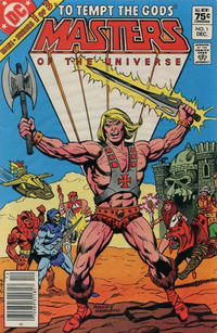 Cover for Masters of the Universe (DC, 1982 series) #1 [Direct Sales]