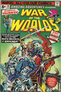 Cover Thumbnail for Amazing Adventures (Marvel, 1970 series) #28 [British]