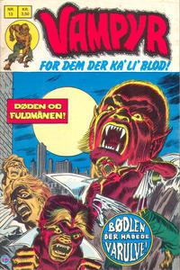 Cover Thumbnail for Vampyr (Interpresse, 1972 series) #13