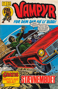 Cover Thumbnail for Vampyr (Interpresse, 1972 series) #6